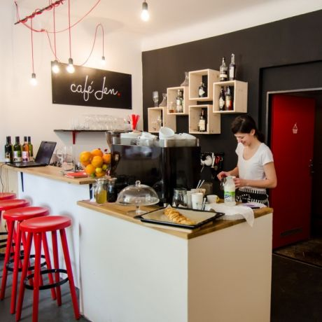Café Jen interiér