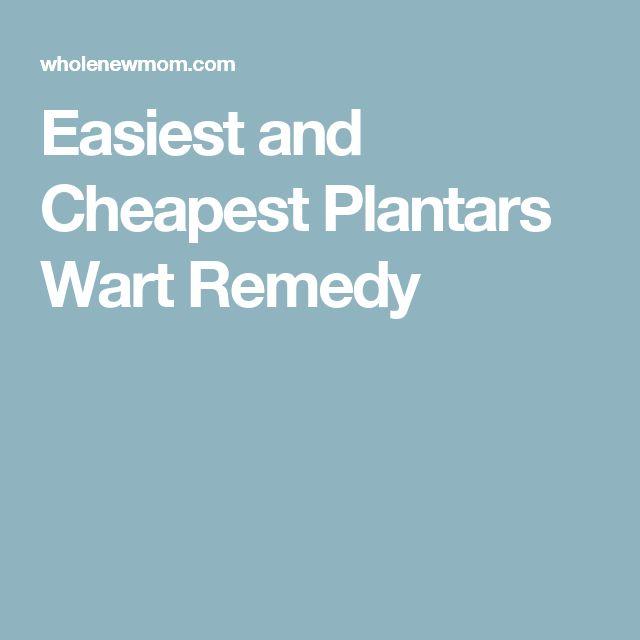 Plantars Wart Natural Cure