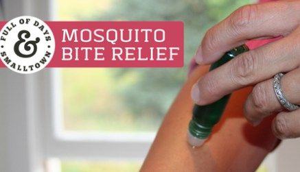 how to help mosquito bites stop itching