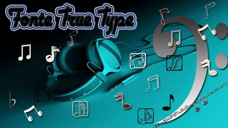 Fonte True Type Elementos de Música (Notas Musicais) | Bait69blogspot