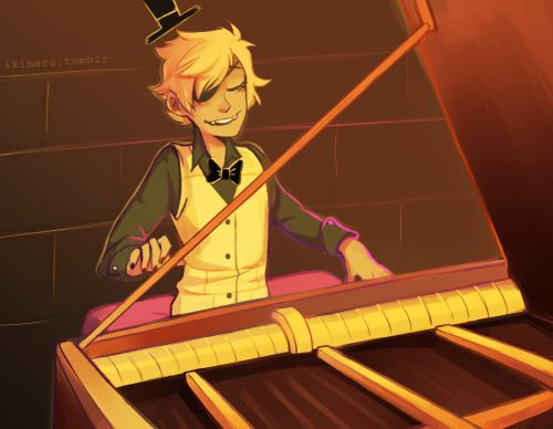 OH MY HOT BELGEN WAFFLES WHY HAVE I NOT SEEN THIS BEFORE NOW WHY DID NO ONE SHOW THIS TO ME THE WORLD IS NOW 10000000% BETTER #bill cipher #playing the piano bill cipher playing the piano Gravity Falls