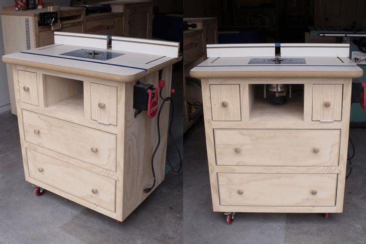 Build a Router Table with These Free Downloadable DIY Plans: Ana White's Free Router Table Plan