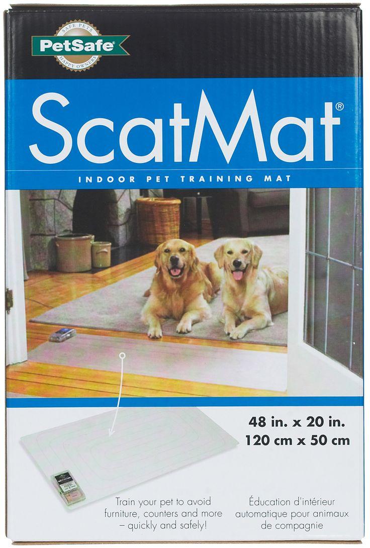 """PetSafe Scat Mat Indoor Pet Training Mat 48"""" x 20"""""""