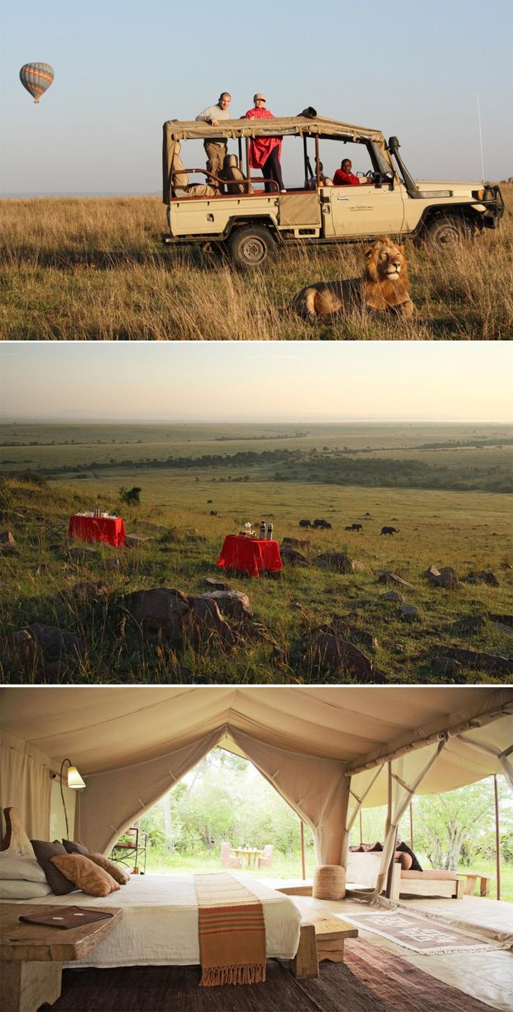 Luxury Naibor Private Retreat / Massai Mara, Kenya: Destinations Dreams, Kenya Nairobi, Luxury Naibor, Dreams Luxury, 1St Places, Private Retreat, Naibor Private