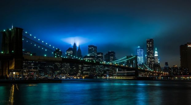 City Night Lights Wallpaper Hd City 4k Wallpapers Images Photos And Background Bridge Wallpaper New York Wallpaper New York Night