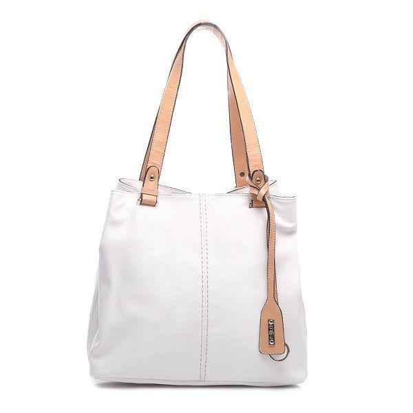 TORBA TYPU TOTE BAG 3416PU.W /L31 - biały > CzasNaButy.pl > buty i torebki