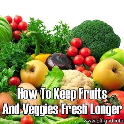 Please Share This Page: If you are a first-time visitor, please be sure to like us on Facebook and receive our exciting and innovative tutorials and info! Photo – © Serghei Velusceac – Fotolia.com We found a great tutorial on keeping fruit and veggies fresh longer. The link is at the end, after our additional [...]