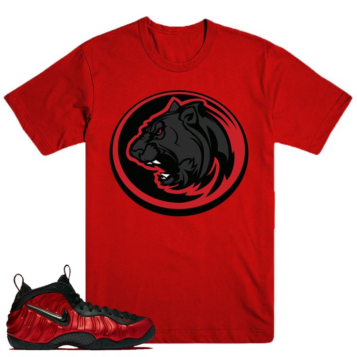 University Red Foams- Panther