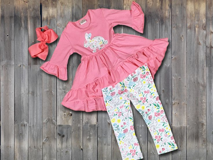 Easter Wishes Pant Set:  on SALE from $15.30 for one week only!