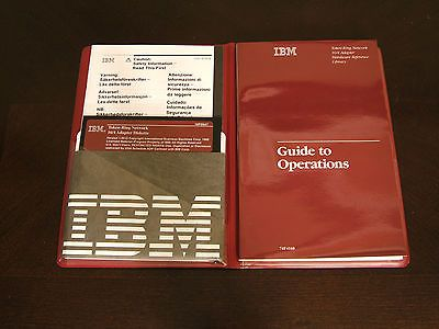IBM Guide to Operations Token-Ring Network 16/4 Adapter Manual & 5-1/4 Disk MINT