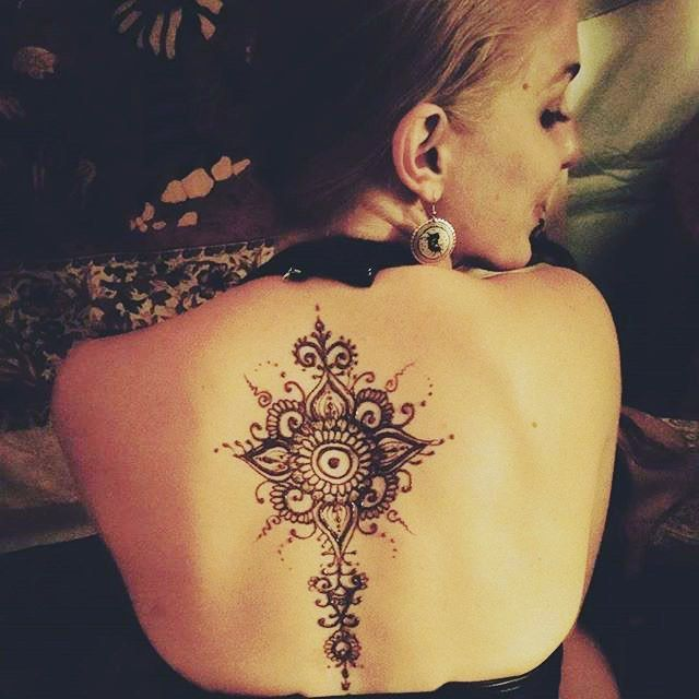 Image result for india back tattoo