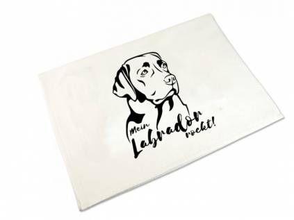 Hundemotiv - HandtücherHandtuch: Labrador 50 x 100 cm
