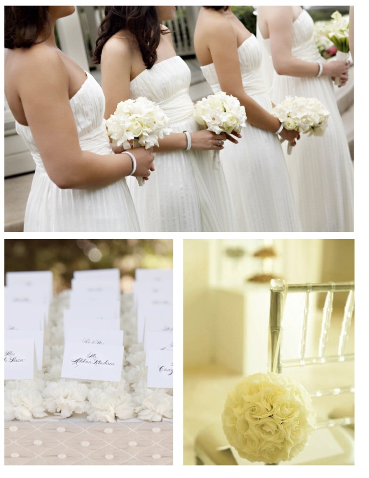 52 best wedding theme white images on pinterest flower for Wedding dress shades of white