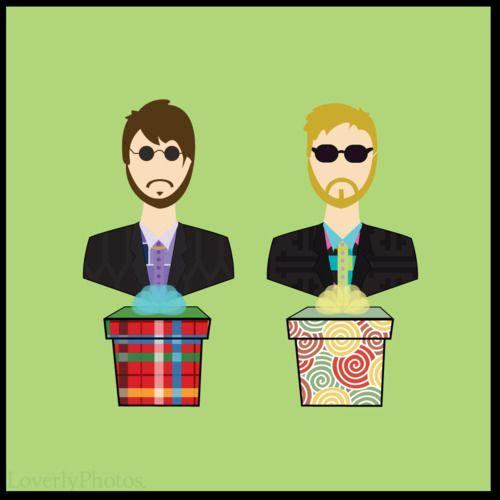 """D*ck in a Box"" | Andy Samberg | Justin Timberlake | Saturday Night Live | #SNLFanArt"
