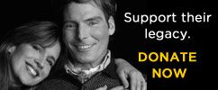 Please honor Christopher Reeve's legacy by making a tax-deductible donation today.