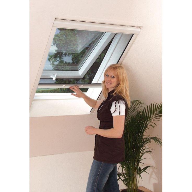 Moustiquaire Vélux fenêtre de toit enroulable