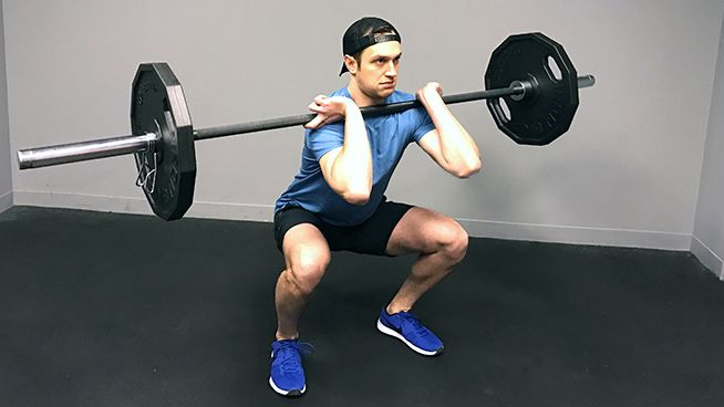 Learn how to perform Front Squats like a pro! Step-by-step Front Squat instructions and tips with helpful photos and video.
