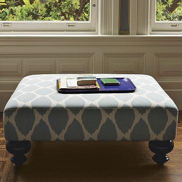 Attractive Essex Printed Ottoman. Look AlikeCoffee Table ...