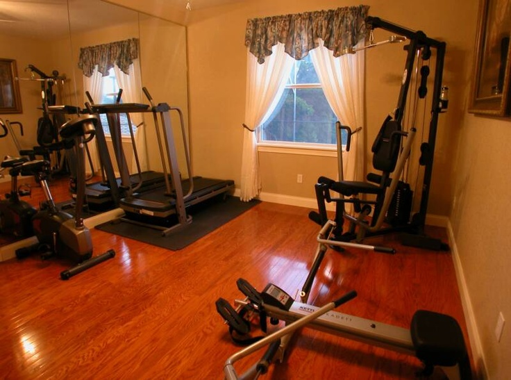 Images about home game exercise room on pinterest