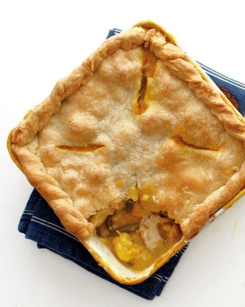 Curried Chicken Potpie Recipe: Pies Crusts, Chicken Pot Pies, Chicken Potpie Recipes, Food, Pies Recipe Can, Cooking, Martha Stewart, Chicken Pots Pies, Curries Chicken