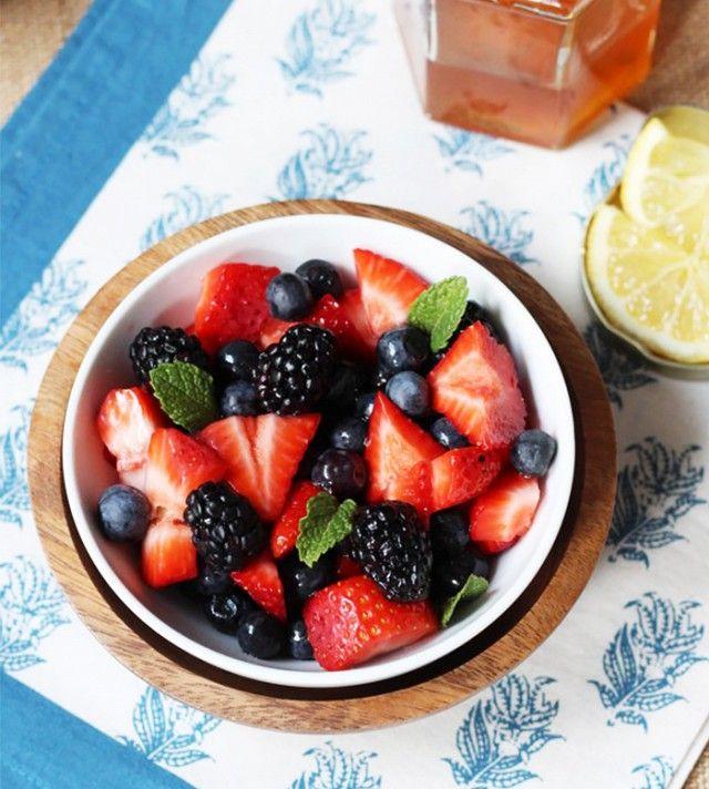 2. Blueberries, Strawberries, and Acai Berries