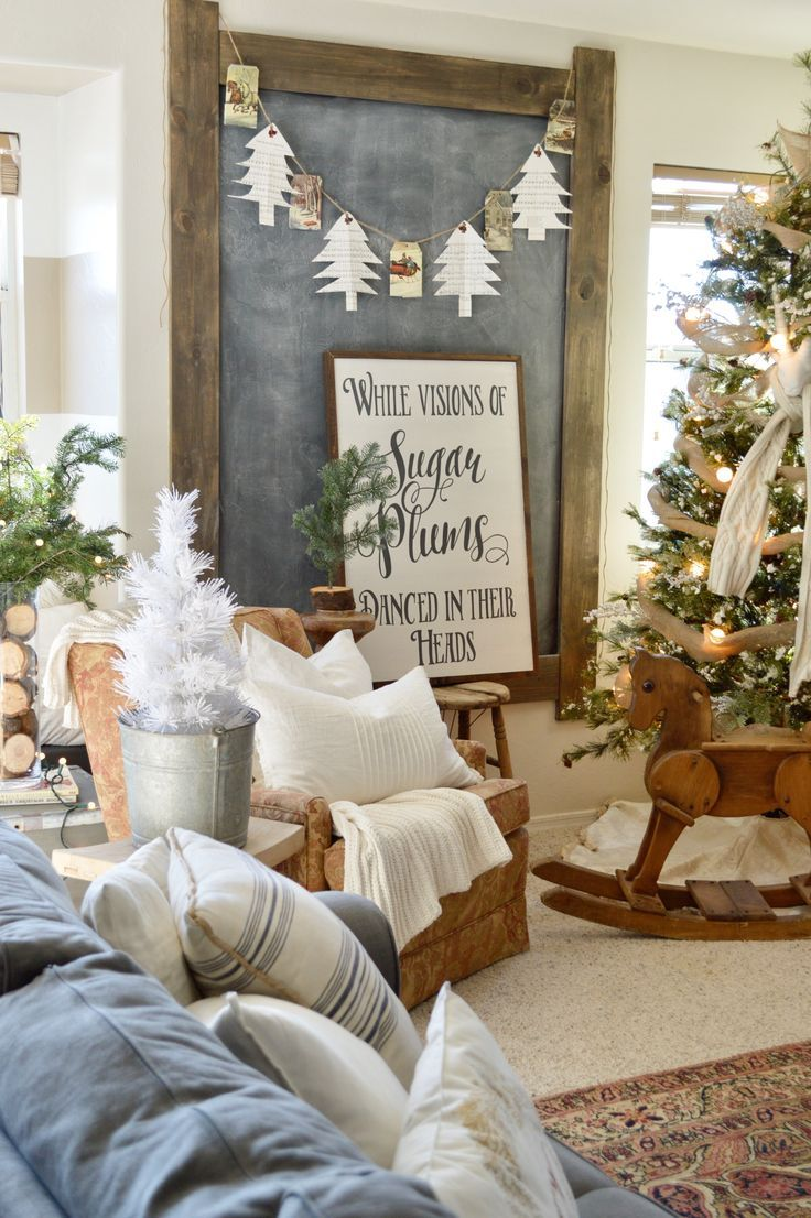 Budget Friendly Christmas Decor! Christmas trees can have your favorite Christmas songs on them!