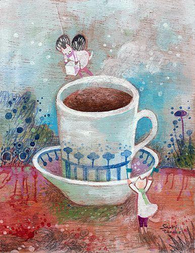 豆ネコと或るカフェの秘密