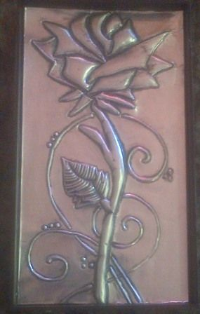 Flower - We are situated in South Africa - Ravenswood. Boksburg. - We give Hand Metal Embossing Lessons. Pop Us a Mail for More Info. Visit Our Websites. www.crafts4all.co.za and www.woodwarehouse...