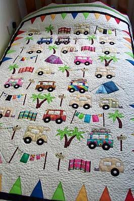 quilt, photo: Vintage Camper Quilt camper_quilt_zps72efea64.jpg photobucket