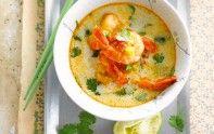 Vous êtes amateurs de cuisine asiatique ? Alors vous allez adorer cette recette de soupe de crevettes.