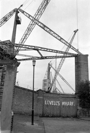 Lovell's Wharf 1979