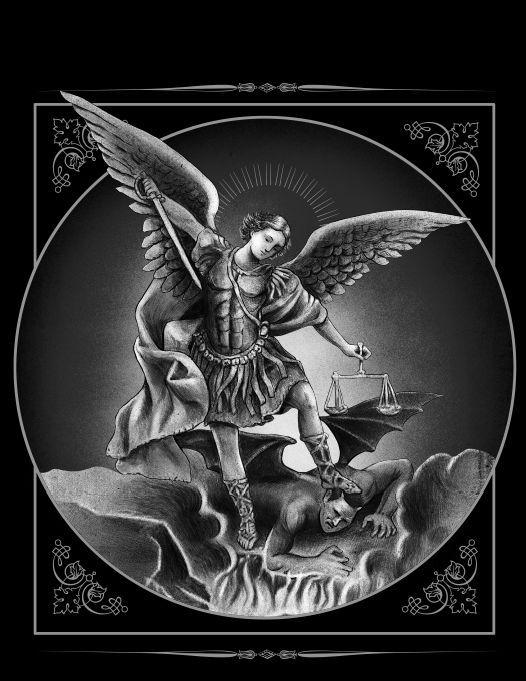 ROGUE AMERICAN - Saint Michael 19x27 Poster , $20.00 (http://www.rogueamericanapparel.com/saint-michael-19x27-poster/)