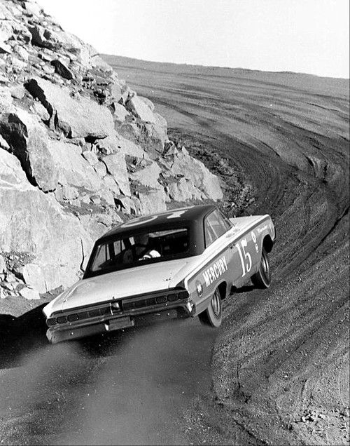 prova275: Parnelli attacking Pikes Peak, 1964.