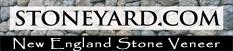 Boston Blend Mosaic Natural Stone Veneer from Stoneyard.com  Sold at Ondrick Natural Earth