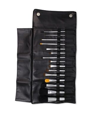 Beaute Basics 15-Piece Professional Brush Set with Case