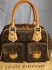Authentic Louis Vuitton MANHATTAN PM Monogram Like  New! w/Receipt Handbag Purse