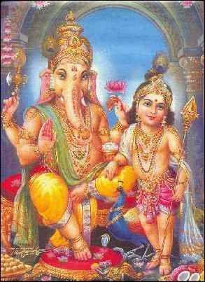 Hinduizmus, Krišna, Ganeš, Šiva, Surya...a predovšetkým Ganeš