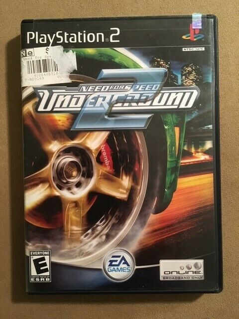 Need for Speed: Underground 2 (Sony PlayStation 2, 2004