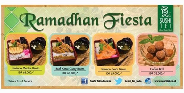 harga menu sushi tei, ramadan fiesta sushi tei, Harga Menu Ramadan Fiesta Sushi Tei 2014,