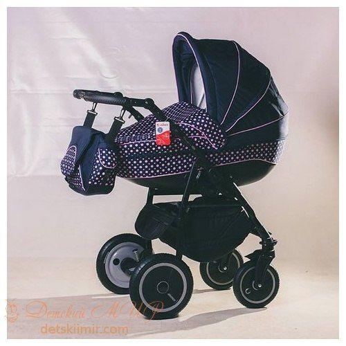 Детская коляска Adamex 2в1 Champion синий, темносиреневый (горох)  Цена: 230 USD  Артикул: MP620035  Детская коляска Adamex 2 в 1 Champion - это маневренная, легкая и удобная коляска на алюминиевой раме, с эксклюзивной обивкой из полиэстеровой ткани наивысшего качества, и ручкой, обшитой экологической кожей.  Подробнее о товаре на нашем сайте: https://prokids.pro/catalog/kolyaski/kolyaski_2_v_1/detskaya_kolyaska_adamex_2v1_champion_siniy_temnosirenevyy_gorokh/