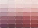 ### MaterialsWorld.com has paint palettes for Sherwin Williams, Benjamin Moore, Behr, Valspar etc etc. Encycolorpedia.com tells you closest matches in dozens of brands to a specific paint color.