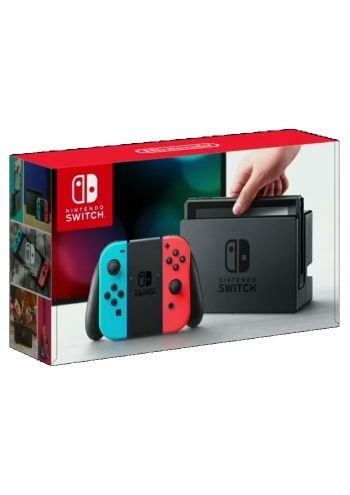 Nintendo Switch (Red/Neon Blue)