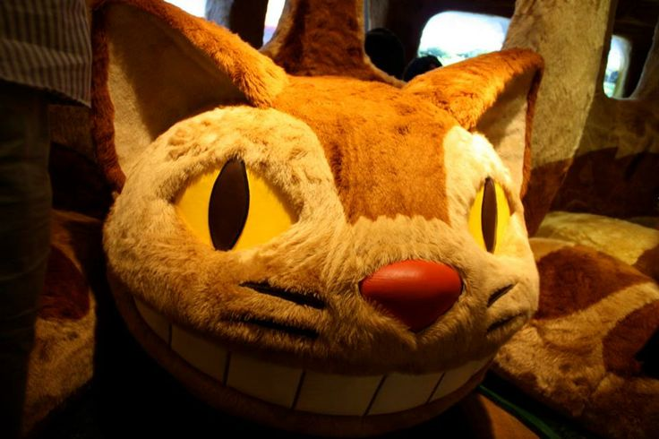 Tokyo - Ghibli Museum (chat bus)