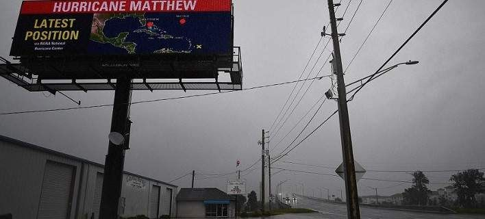 Η Φλόριντα αντιμέτωπη με την οργή του τυφώνα Μάθιου