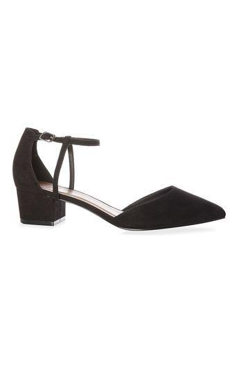 fa3432be Primark - Zapatos negros de tacón block bajo Sandalias Negras Tacon,  Zapatillas De Tacón,
