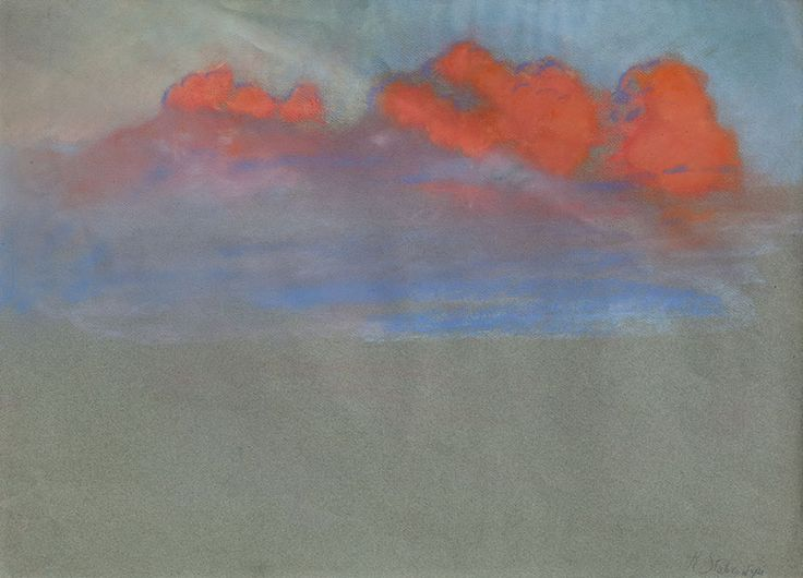 Kazimieras Stabrauskas. Sunset