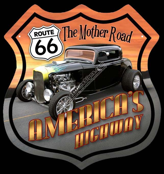 ~ Route 66 - The Mother Road - America's Highway ~