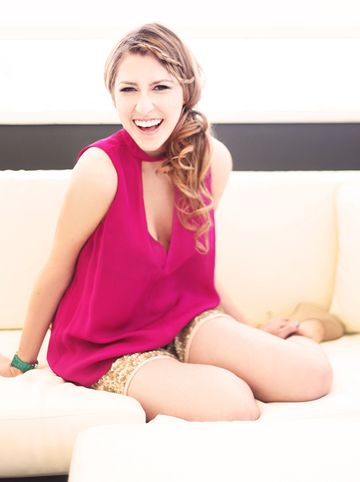 Eden Sher from ABC's The Middle.