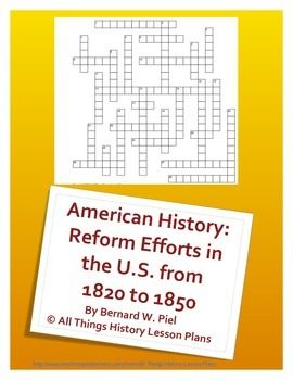 education reform 1820 1850 Read chapter 2 education reform in the united states: the district of columbia ( dc) has struggled for decades to improve its public education system in.