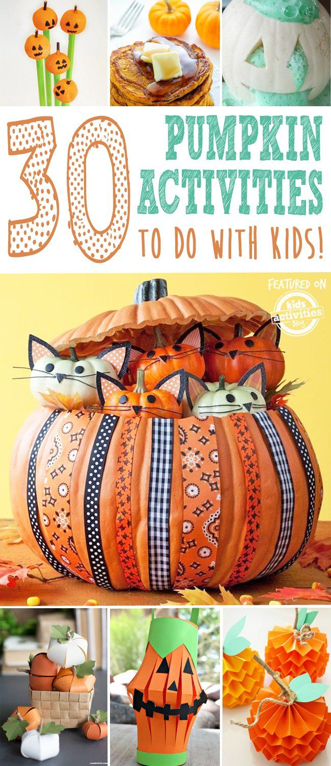 30 fantastic kids pumpkin activities to do this fall - Halloween Gifts Kids